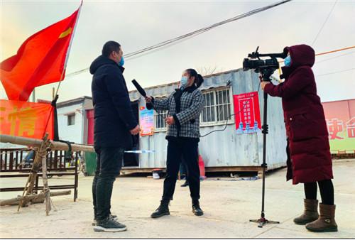 """宁晋县融媒体中心:积极投身抗疫_淬炼融媒""""新铁军"""""""